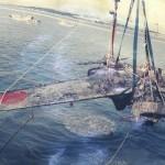 零戦引き揚げ画像
