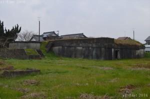 宇佐海軍航空隊半地下式建物