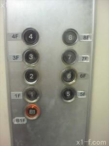ダイエー下通り店エレベーター